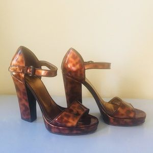 Prada Platform Heels- Patent Leather